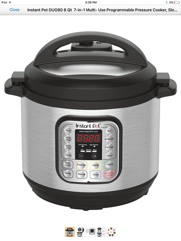 Instant Pot 8 quart 7 in 1 electric pressure cooker