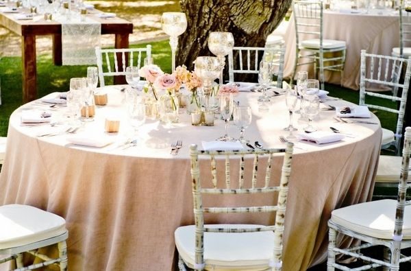 Shabby Chic Wedding Decor – nice romantic atmosphere at the table!  – Hochzeit