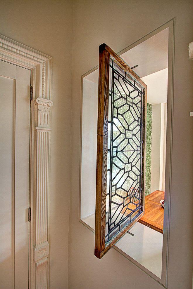 Brownstone Renovation Pivoting Window