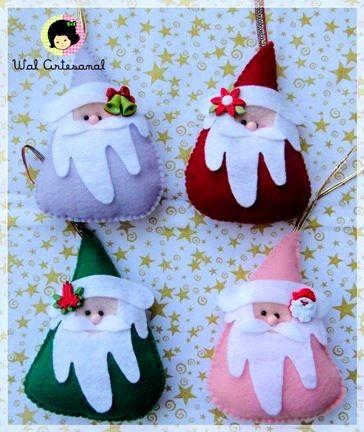 Venite a cucire ONU Babbo Natale con le Sue mani. Motivo Babbo Natale / Master Class