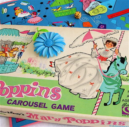 Mary Poppins Game. Oh my gosh! I had this. I played it so much that I wore it out.