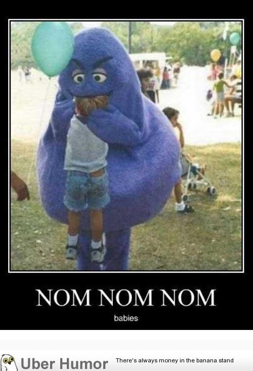 Ran into Grimace at Walmart today… | Walmart funny, Funny ...