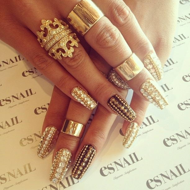 Crazy Nail Art: Es Nails On Melrose--they Do Crazy Amazing Nail Designs