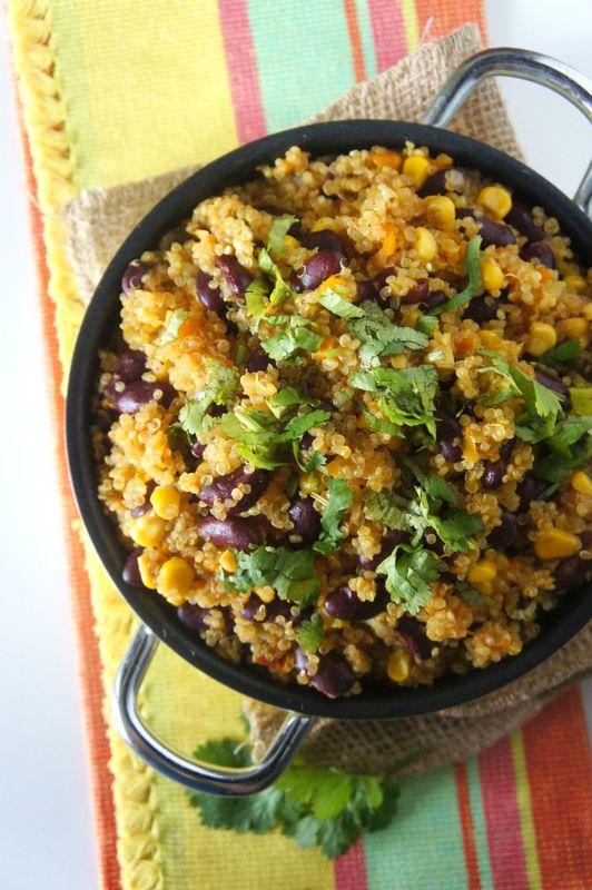 Poêlée de Quinoa à la Mexicaine [ VEGGIE ]