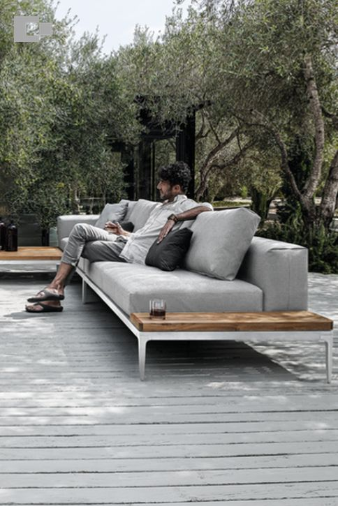 There's no better way to unwind than lounging in our Red Dot award winning Grid collection