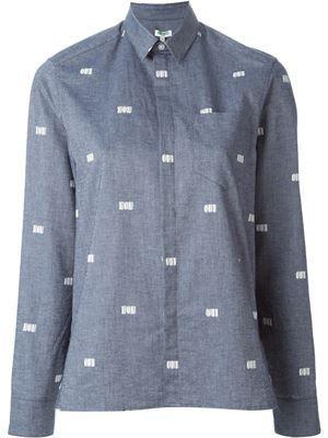 a6c9286495    kenzo  qui print shirt 100% cotton 229€ · Camisas AzulesAlgodónComprasMi  ...