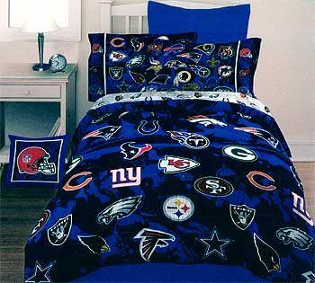 nfl bedding and comforter on pinterest