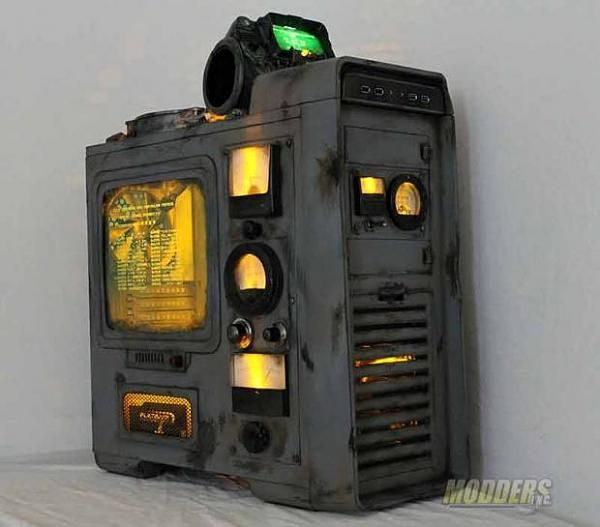 Fallout pc case mod tech from the wasteland created by for Case modello artigiano