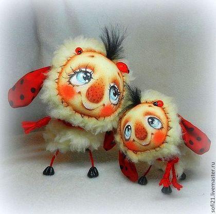 Коллекционные куклы ручной работы. Ярмарка Мастеров - ручная работа Овечья нежность.... Handmade.