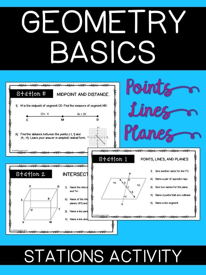 Geometry Basics Angle Addition Postulate Worksheet Answers ...