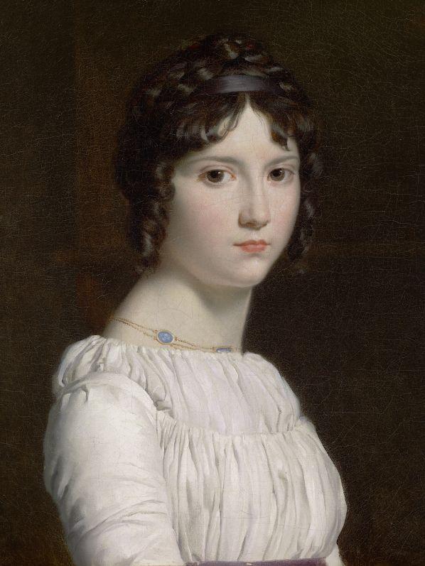 """""""Robe a La Chemise""""Baroness Emilie Pichon by François Gérard,1795"""