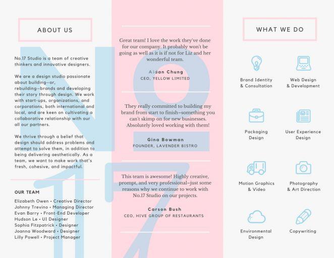 20个小技巧教你设计惊艳的三折页[大量案例] 平面设计 原创/自译教程 DATS设计翻译组 - 设计文章/教程分享 - 站酷 (ZCOOL)