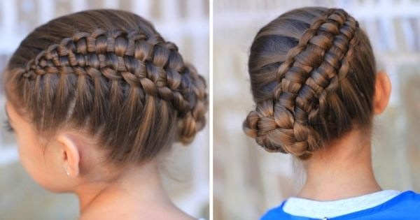 Braided hairstyles exceptionally twisted hair strands