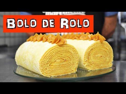 BOLO DE ROLO - Receitas da vo Lurdes - YouTube