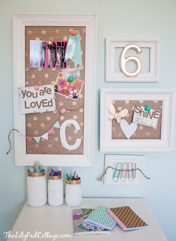 17 mejores ideas sobre cuarto con escritorio peque o en - Decoracion para escritorio ...