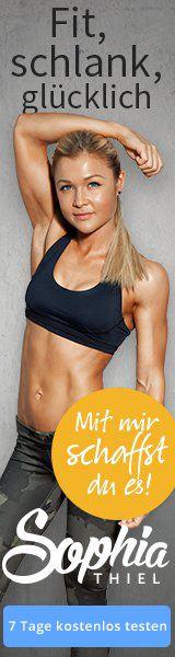 Erfahre mehr über das Fitness-Programm: http://eatsmarter.de/abnehmen/abnehmprogramme/sophia-thiel/sophia-thiel-in-12-wochen-zum-traumbody