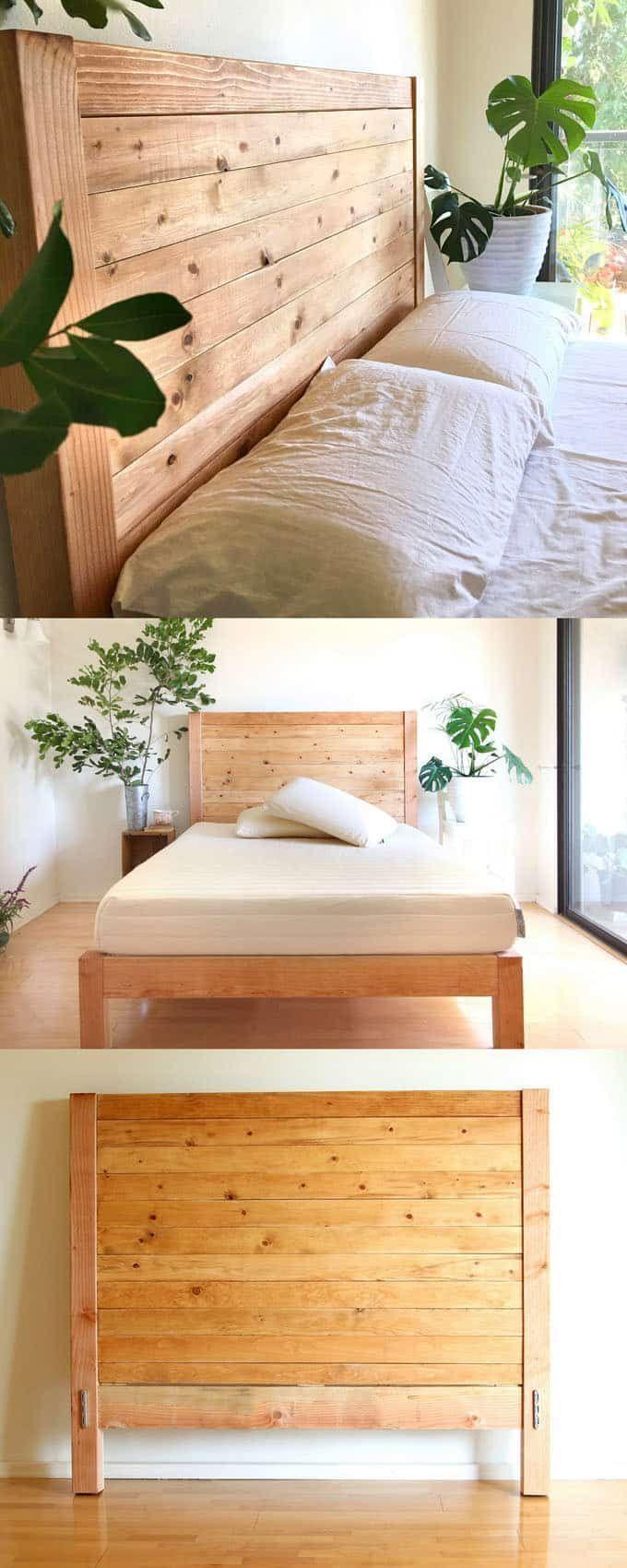 High Quality Build A Beautiful Wood DIY Headboard: Detailed Tutorial U0026  Free Plans For Twin