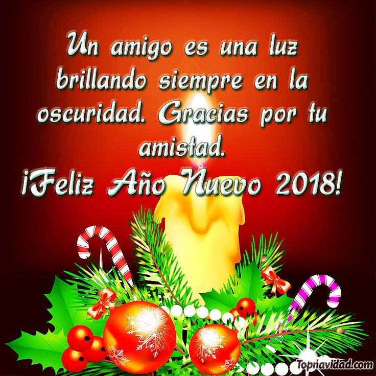 Hermosas tarjetas de Feliz Año Nuevo 2018 para Amigos Tarjetas Postales de Año Nuevo, Tarjetas Postales Fin de Año, Tarjetas Postales para Felicitar Toptarjetaspostales.com