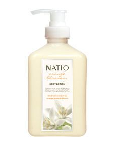 Natio Orange Blossom Body Lotion 250ml - Amcal Chempro Online Chemist