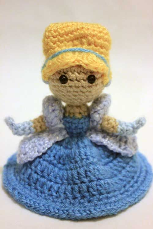 Buy Cinderella doll amigurumi pattern - AmigurumiPatterns.net