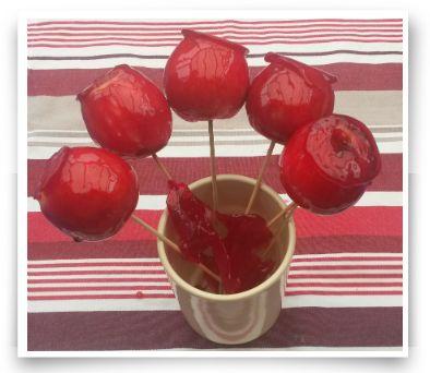 Evde elma şekeri yapımı tarifi