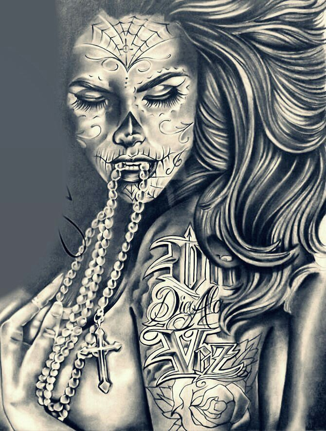 242 best images about tattoo on pinterest for Chicano tattoo art