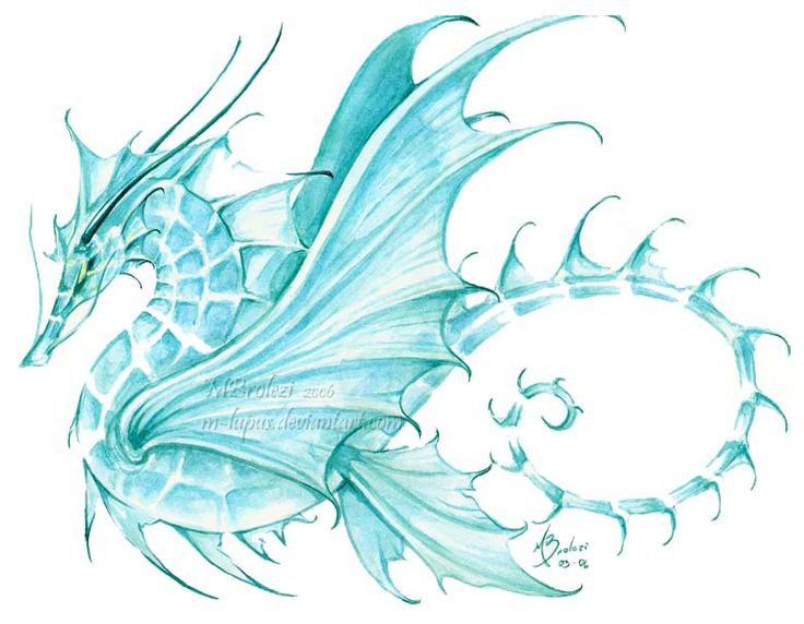 Sea dragon by m on deviantart for Sea dragon tattoo