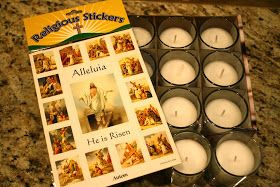 For a few years now I have been wanting to make Stations of the Cross candles, but I never got around to buying the supplies. This week I'v...