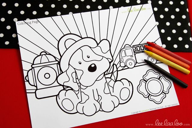 """Photo 1 of 50: Firetrucks and Dalmatians / Birthday """"Fireman Birthday Party"""" 