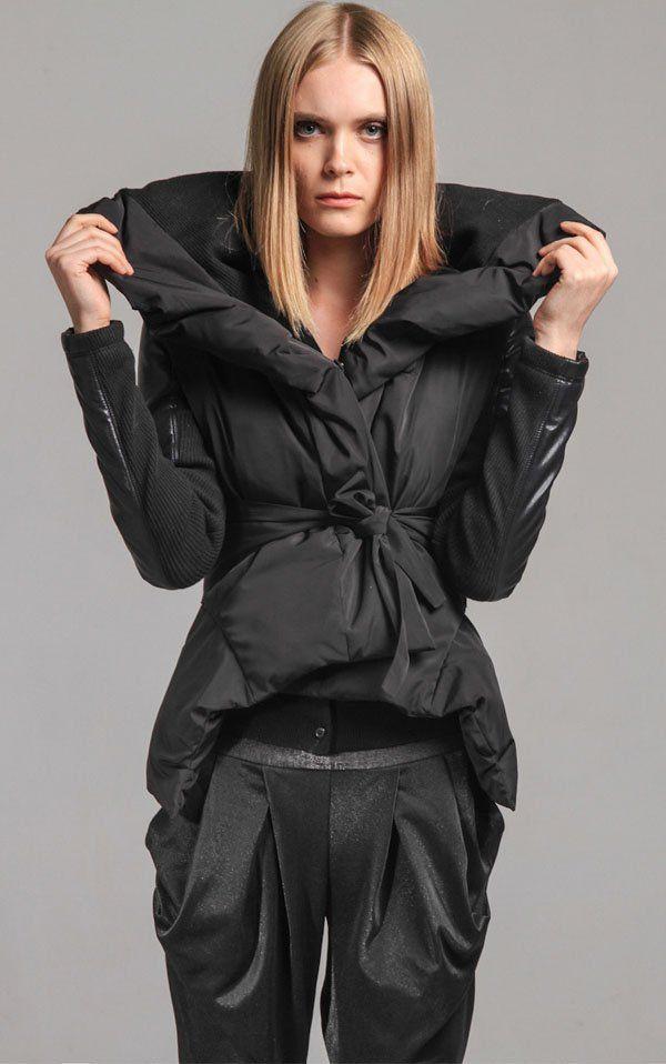 Бесплатная доставка белая утка вниз пальто женщин с промытыми кожаные рукава, Зимние куртки женщины мода куртка зима верхняя одежда HD225 купить на AliExpress