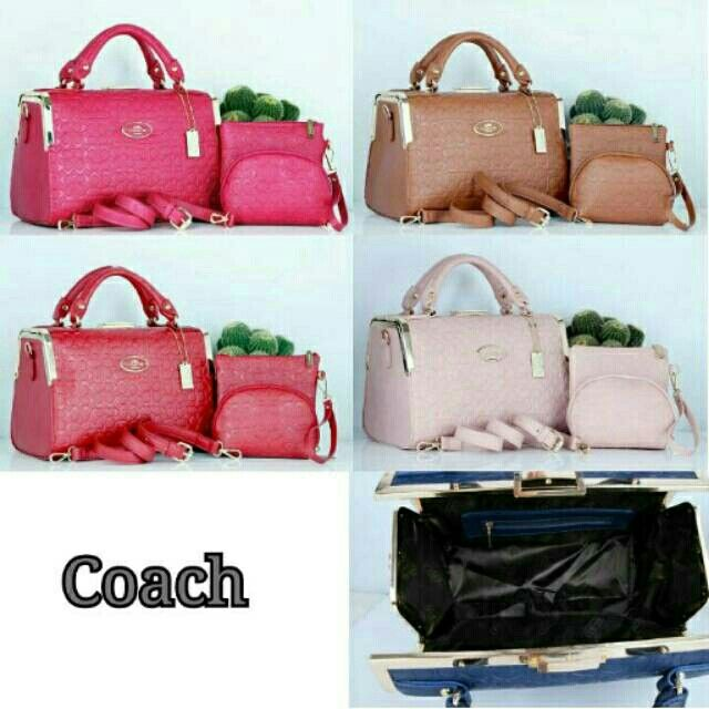 #tascoach#coachbag #coach  (215ribu) Boom Sale 3in1New COACH Doctor 2202# Leather Embos Quality Semor# 28x14×21 & 16×4×12 & 16×10 (1,4kg)hc Recomended!!!!!!!!!! Buruan Yaa BB 5994f533 WA 085765037530/08566549554 Tokopedia Hasna Wakhid olshop FB Hasna Wakhid tas