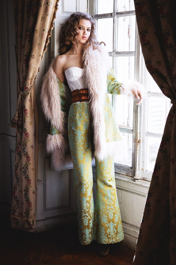 Spell & The Gypsy Collective - Pre-Order Spell Brocade Lace Up Flares