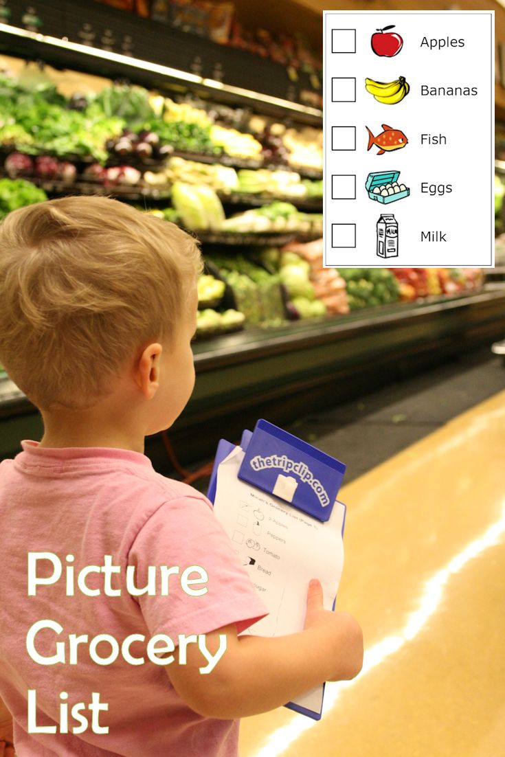 grocery shopping list maker