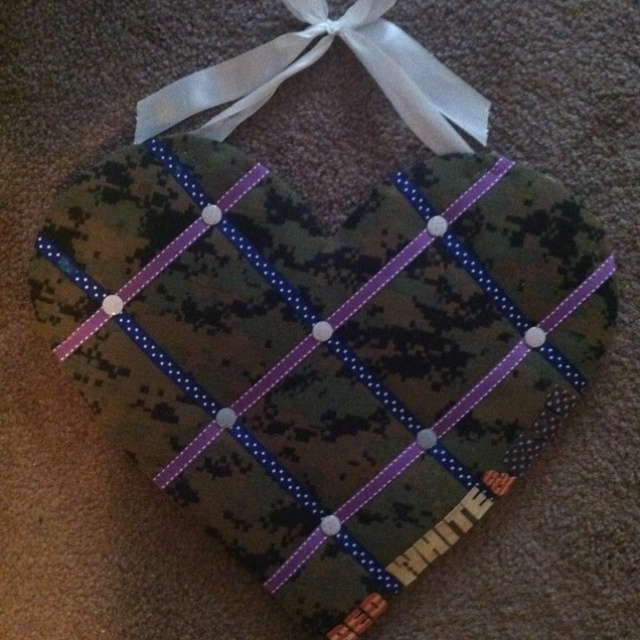 DIY photo board. USMC style :)