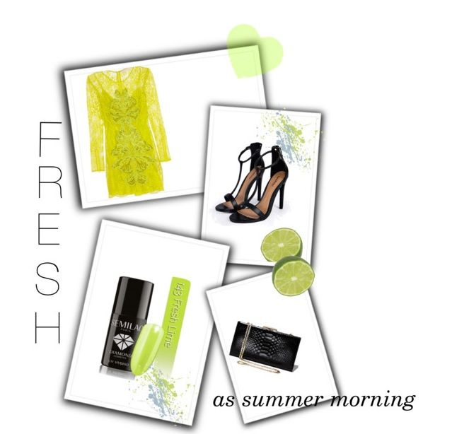 Have no idea for spring/summer outfit which suits to your nail color? Here is our proposition with 143 Semilac Fresh Lime!