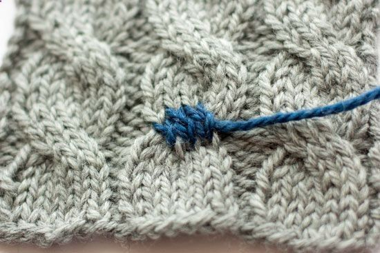 how to fix selvedge stitches knitting
