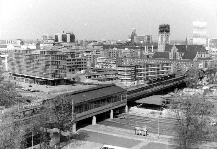 Blaak Rotterdam (jaartal: 1970 tot 1980) - Foto's SERC