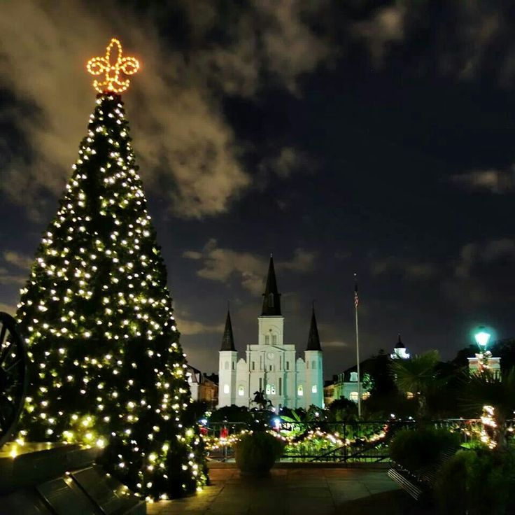 Christmas Time In Jackson Square