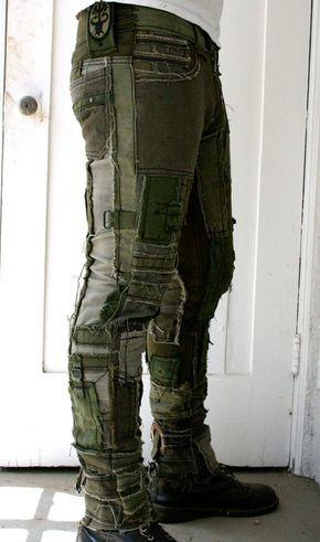 Patchwork Pants -