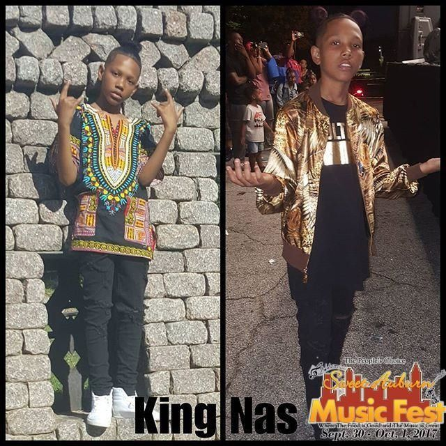 "#Recap of the #SweetAuburnMusicFest2017 from @king_nas My Look for Atlanta's Sweet Auburn Music Festival. 12 years old and swagg so fresh because of the West coast. ""LIKE ME""  #sweetauburnmusicfest #rapgameseason5 #rapgametv #KingNas #intuitiveentertainment #therapgamelifetime #jermainedupri #BornToHustle #LikeMe #swag @intuitiveentertainment @sweetauburnmusicfest @rapgamelifetime @jermainedupri @adamschor"