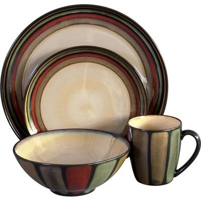 Flair 16 Piece Dinnerware Set  sc 1 st  Pinterest & 15 best Everyday Dinnerware images on Pinterest   Dinnerware sets ...