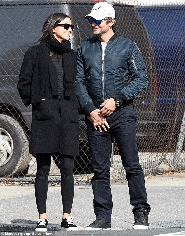 Limitless love: It seems that Bradley Cooper and Irina Shayk are still firmly in the throw...