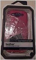 Incipio WM-SA-008 Feather Ultra Thin Snap-On Case for Samsung Galaxy S3 - Pink