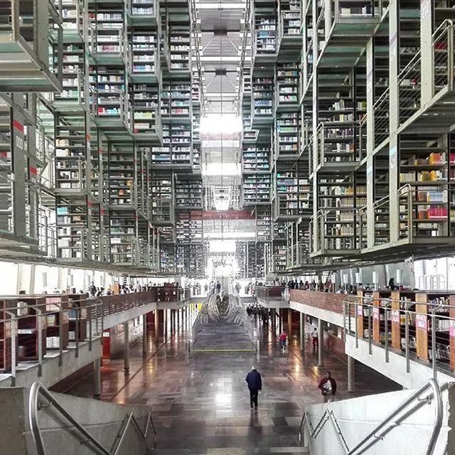 Arq Alberto Kalach Biblioteca Vasconcelos Ciudad De Mexico