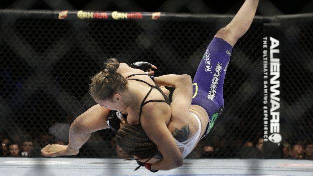 UFC 175: Ronda Rousey venció a Alexis Davis en 16 segundos (VIDEO)