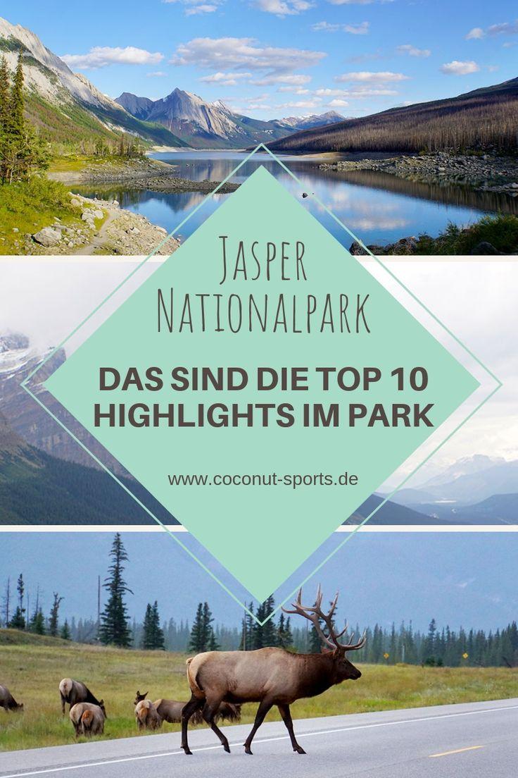 Jasper Nationalpark Top 10 Sehenswürdigkeiten: Das sind die Highlights im Park