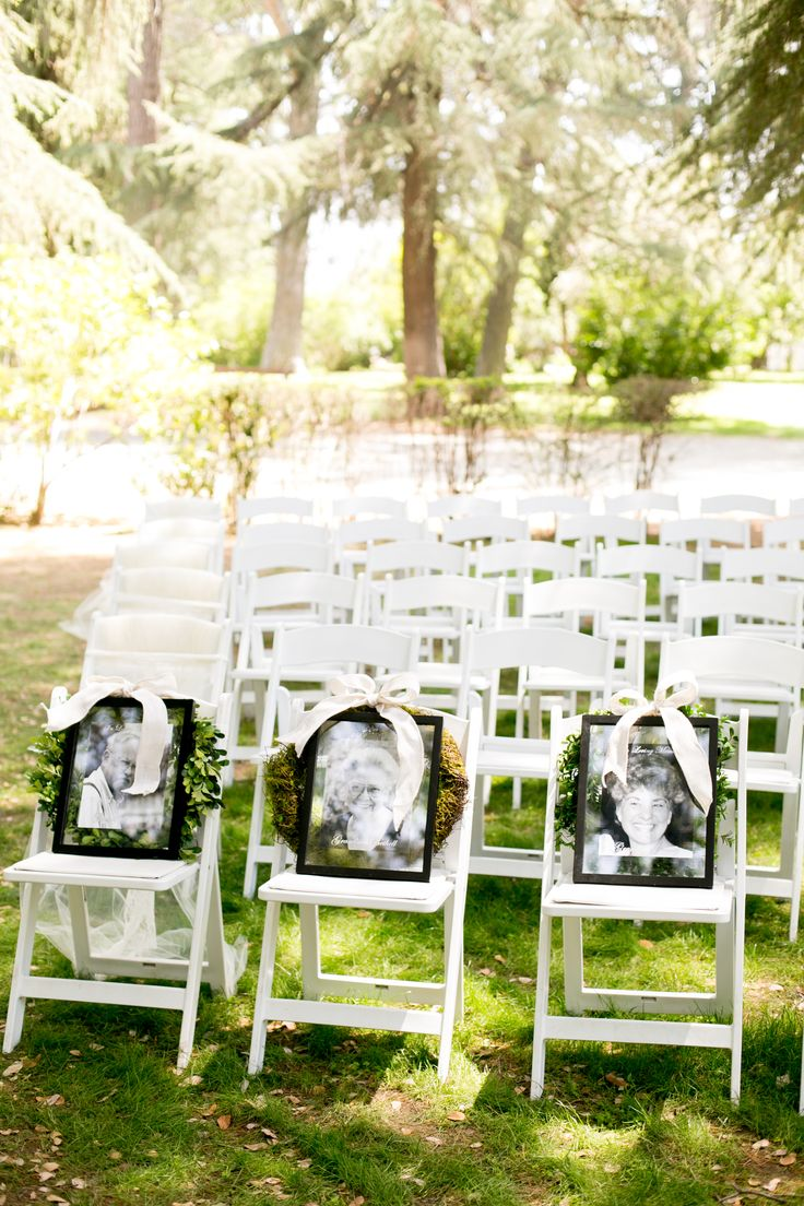 For the loved ones who have past.... Highland Springs Resort Wedding Kristi Eddie.