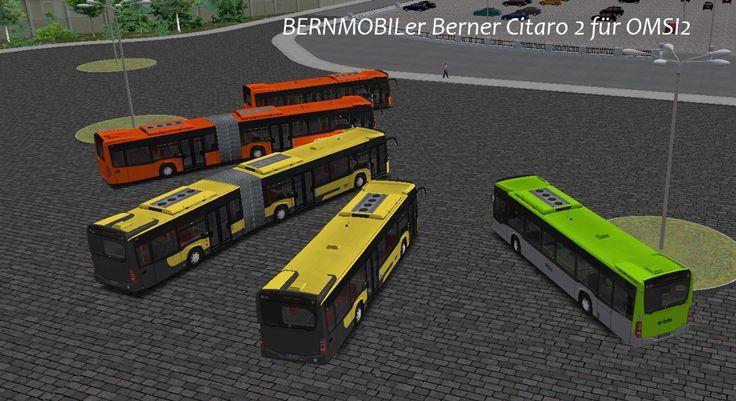 Berner Repaints [Neu verfügbar: Citaro C2-Pack für RBS ...