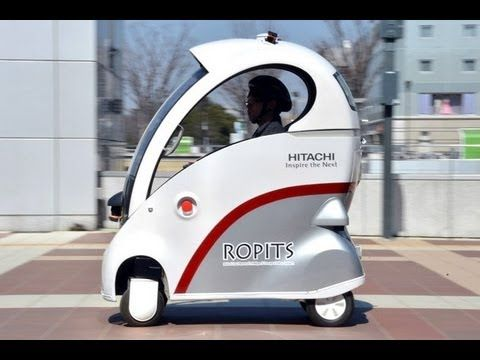 Japan Unveils ROPITS(Robot for Personal Intelligent Transport System) - YouTube