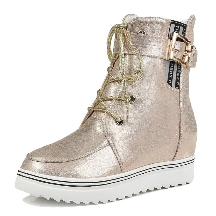AmoonyFashion Women's Low-top Zipper Soft Material Kitten-Heels Round Closed Toe Boots >>> Read more  at the image link.